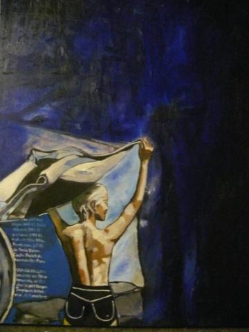 BLUE HOUR, 110cm x 80cm, ÖL AUF LEINWAND, 2015