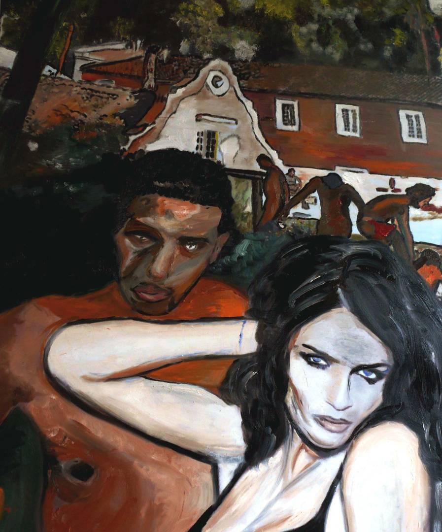 IT`S MY GIRL; ÖL AUF LEINWAND, 2013, 110cm x 80cm